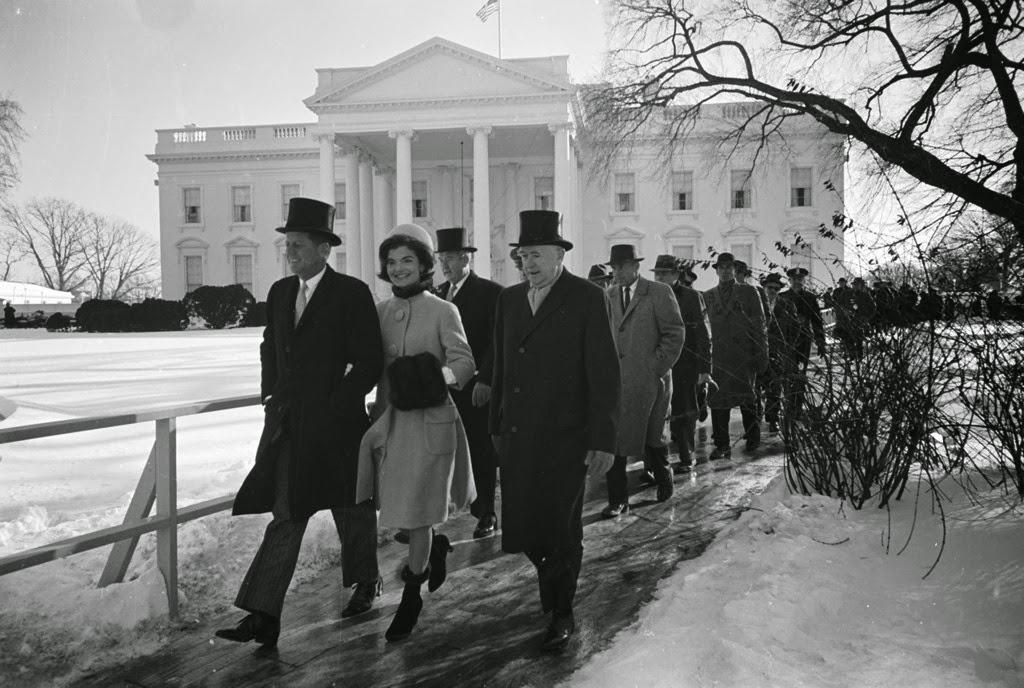 Avengers In Time 1961 News John F Kennedy Sworn In As