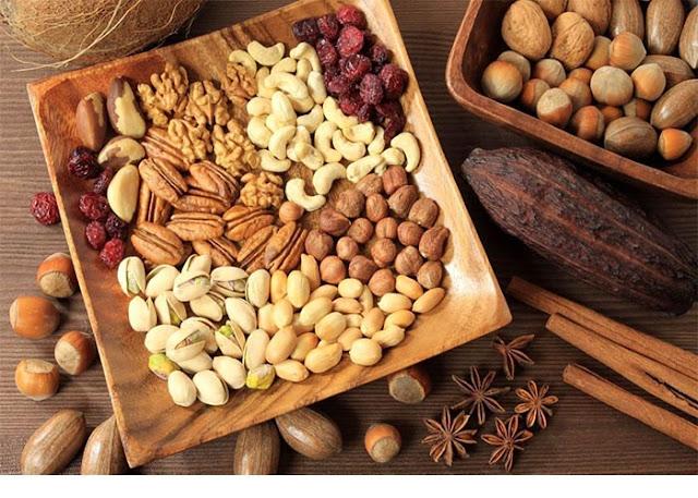 Ăn hạt khô cũng giúp tăng cường sinh lý cho cánh đàn ông