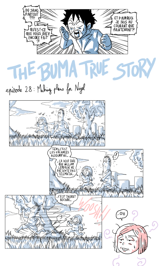 The Buma True Story Episode 28 - Making Plans For Nigel