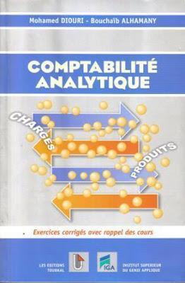 Comptabilité analytique [ Livre ] - Mohamed Diouri, Bouchaib Alhamany.
