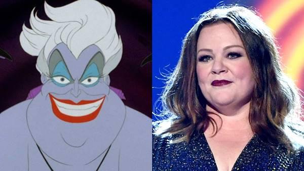 Melissa McCarthy yang akan bermain sebagai Ursula