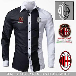 Jual Kemeja Kerja Bola AC Milan Murah