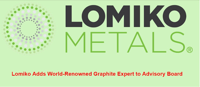 Lomiko Adds World-Renowned Graphite Expert to Advisory Board