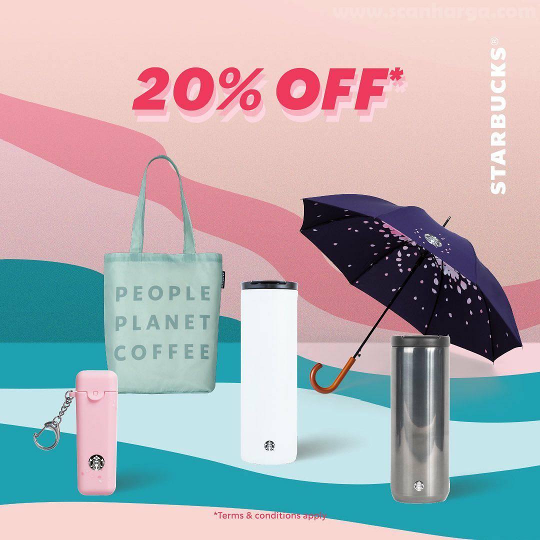 Starbucks Promo Merchandise Ready Set Sale! Diskon hingga 70% 5