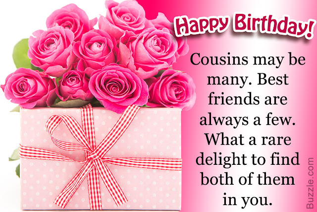 Cousin Happy Birthday Wishes