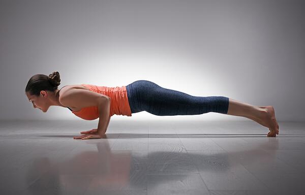 The Low Plank Pose