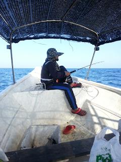 Tips dan cara mencegah mabuk laut Bagi Newbies  Mabuk laut adalah mimpi ngeri buat kaki pancing yang mencuba untuk memancing di lautan terbuka. Kali ini AM nak kongsikan beberapa tips yang boleh di amalkan oleh kaki pancing yang merancang untuk turu ke laut nanti.   Pengalaman Pertama Memancing di Laut yang pernah AM kongsikan member pengalaman yang cukup memeritkan apabila AM sendiri mabuk laut.   Untuk tidak mengulangi sejarah Mabuk Laut lagi, AM cuba berkongsi beberapa tips untuk mengelak mabuk laut bagi AM dan sahabat semua.   Persiapan fizikal  Sebelum ke laut, fizikal pemancing perlu benar-benar dalam keadaan sihat. Apabila badan tidak sihat maka sangat mudah sekali pemancing akan mengalami mabuk laut. Bahkan badan yang sihat juga kadang-kadang  masih mengalami mabuk laut.   Sekiranya belum pernah ke laut dan badan kurang sihat lebih baik tidak perlu melakukan trip. Kecuali pemancing masih yakin akan fizikal badannya untuk ke laut. Tips dan cara mencegah mabuk laut Bagi Newbies   Persiapan mental  Selain persiapan fizikal, pemancing juga harus mempersiapkan mental. Pemancing harus mempunyai keyakinan bahawa nanti kalau di atas kapal tidak akan mabuk laut sekalipun ombaknya besar sekali pun.  Hati kena kering dan kental. Lupakan hal masalah dan kerja, Pemikiran yang tidak stabil juga penyumbang kepada gejala mabuk laut    Rehat yang cukup  Untuk menjaga fizikal badan terutama untuk mencegah masuk angin maka disarankan sebelum trip harus tidur secukupnya. AM cukup mematuhi yang ini, malam sebelum ke laut, semua aktiviti yang melibatkan AM akan di batalkan tanpa sebarang pengecualian.   Makan secukupnya  Isilah perut dengan makanan agar perut tidak kosong sehingga dengan mudah akan terisi angin akhirnya masuk angin yang akan mengakibatkan rasa mual.   Malam sebelum ke laut, sebaiknya berpuasa daripada makan makanan yang bergoreng atau berlemak. Ini pantang yang dijaga oleh sahabat AM yang selalu ke laut.  Tapi jangan makan terlalu banyak. Makan yang terlalu banya