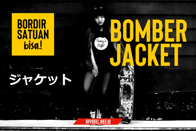 Custom Bomber Bordir Satuan - Konveksi Jacket Jogja