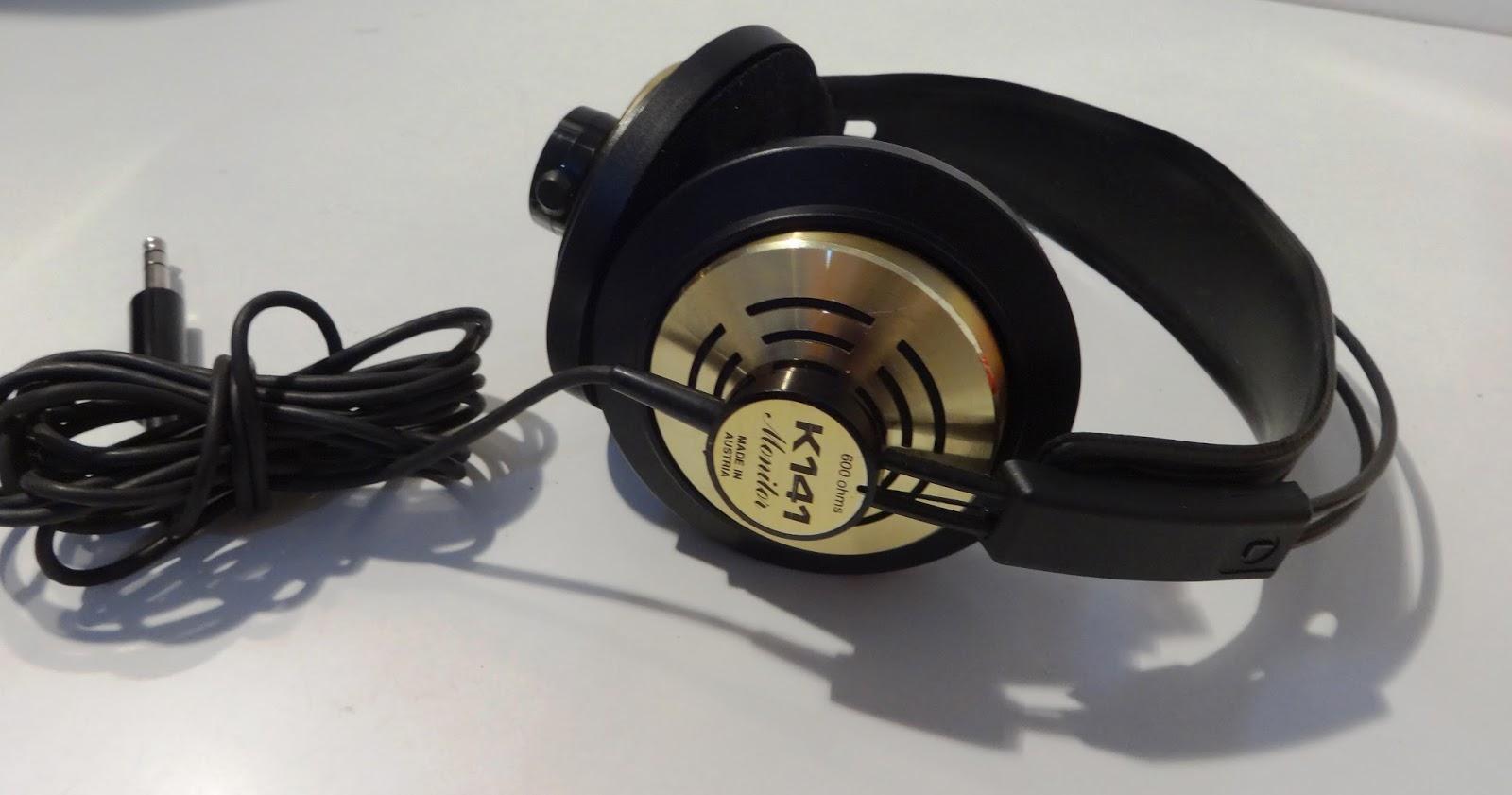 mircogarau  Headphones AKG K 141 monitor 600 ohm Professional Cuffie ... e90d8a407d73