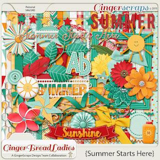Summer Starts Here by GingerBread Ladies