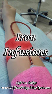 iron infusion life's a polyp