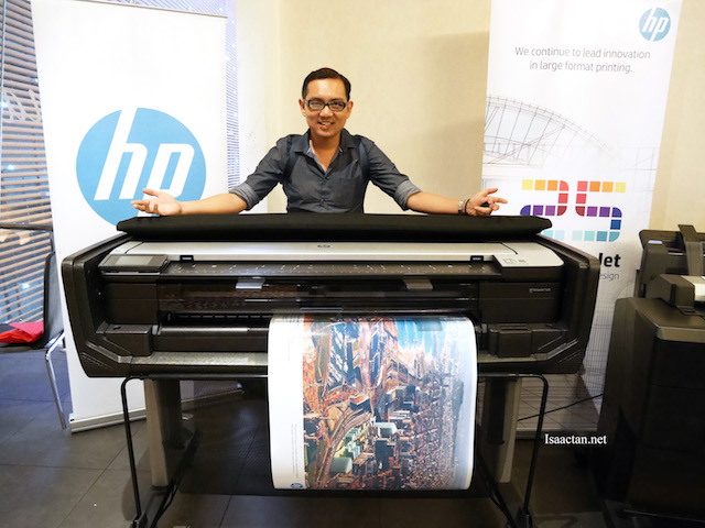 HP DesignJet T830 MFP - Multifunction Reinvented In Large Format Printing