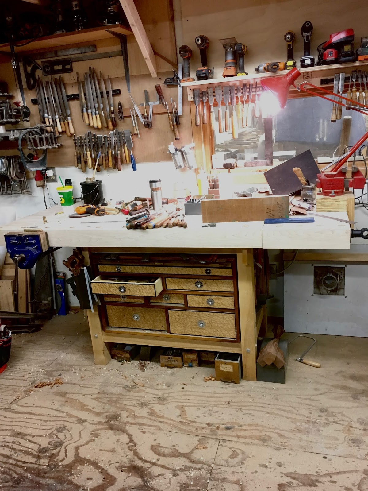 In 2004 As A Student Of The Furniture Institute Of Mass I Needed A Bench  And Only Had 5 Days To Draw And Make The Bench.