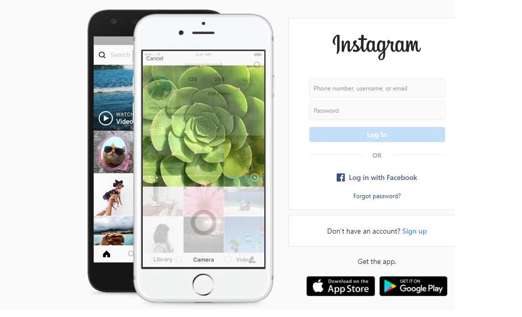 create instagram on computer, create instagram account