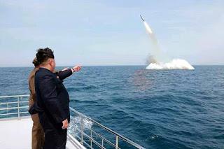 Rudal balistik kapal selam