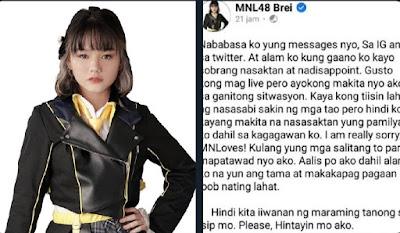 skandal brei mnl48 graduation
