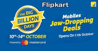 Flipkart Big Billion Days, Best Smartphone Deals October