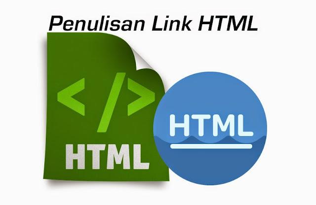 penulisan link html