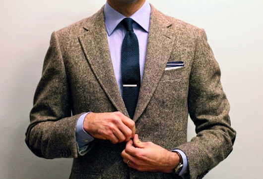 A Tie Bar For Your Custom Suit