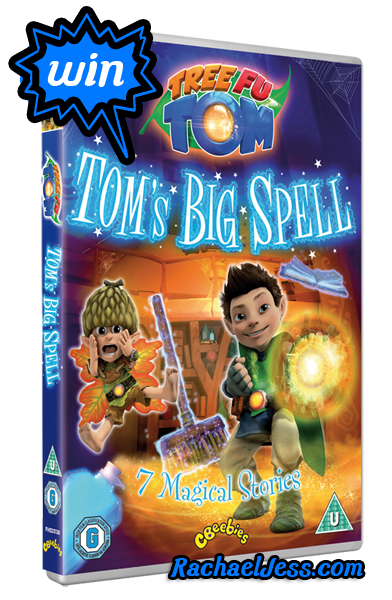 WIN a copy of the new Tree Fu Tom DVD