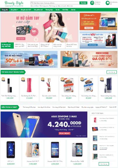 Template blogspot bán hàng tiếp thị Accesstrade