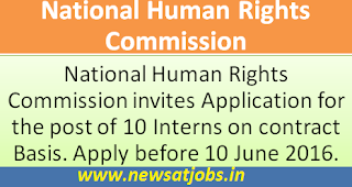 nhrc+recruitment+2016