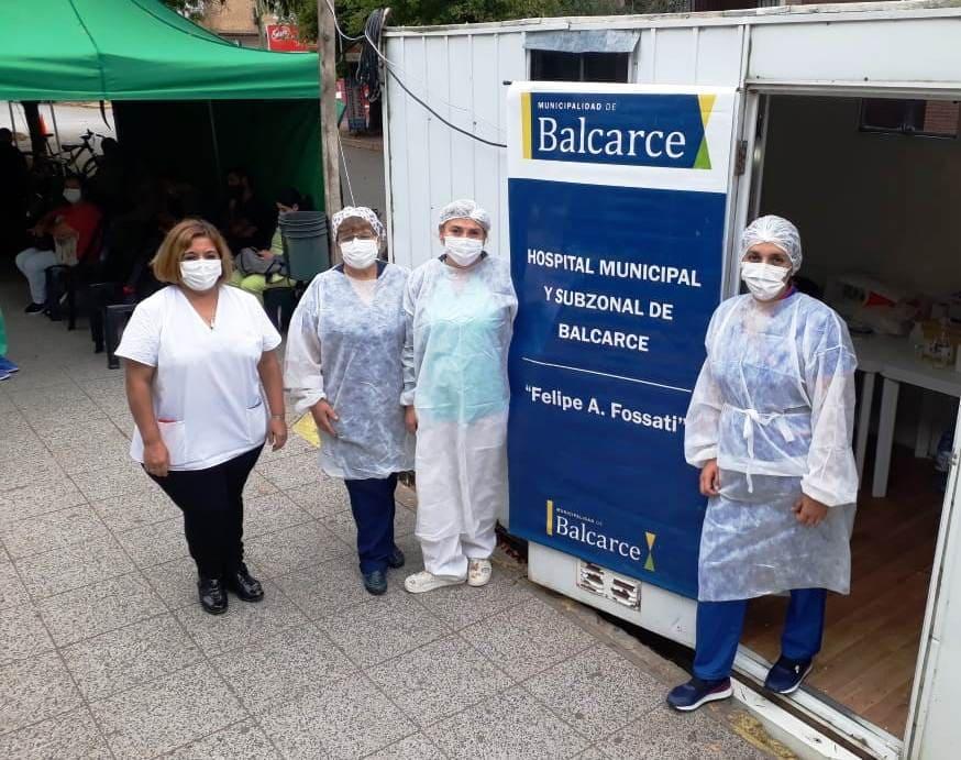Vacunación Hospital Balcarce
