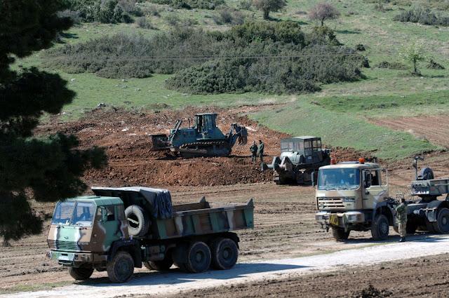 Ενισχύονται οι ένοπλες δυνάμεις μας στα Ελληνο-Αλβανικά σύνορα