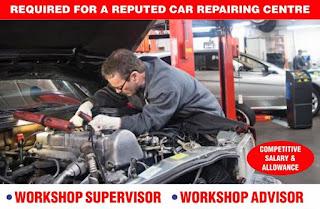 Mechanical Supervisor Job Recruitment For An Automobile Service Center In Abu Dhabi