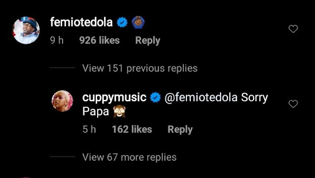 'Sorry Papa' - DJ Cuppy Apologizes To Her Father For Jumping Into The Ocean