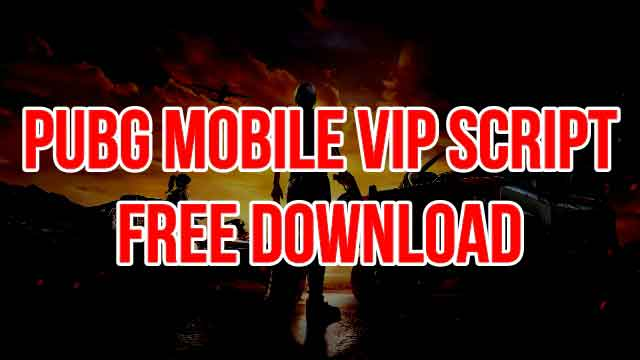 NEW VIP SCRIPT FOR PUBG MOBILE V0 14