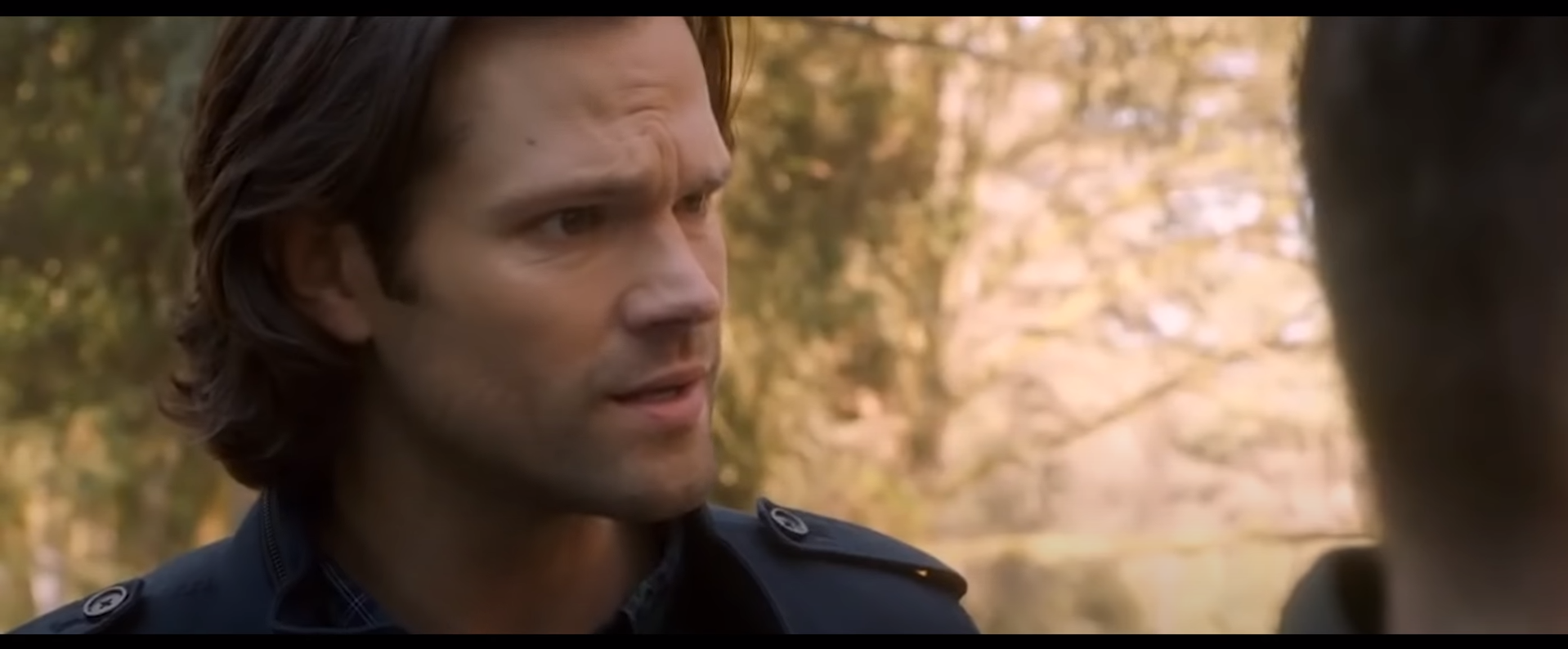 кадр из сериала сверхъестественное Сэм Винчестер