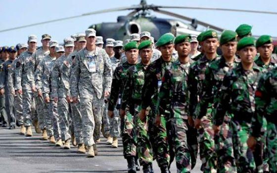 Pertama dalam Sejarah, Satu Kompi Prajurit TNI AD Latihan Tempur di Amerika Serikat