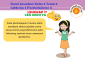 Kunci Jawaban Kelas 5 Tema 2 Subtema 3 Pembelajaran 6 www.simplenews.me
