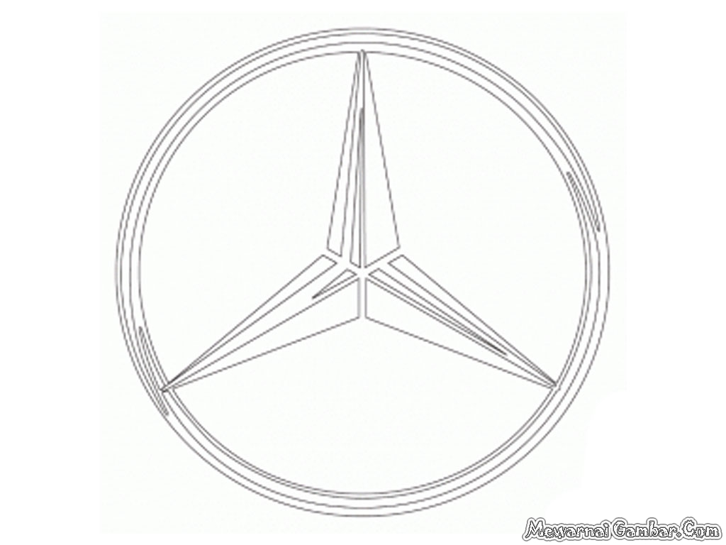 Aneka Logo Mobil Untuk Diwarnai  Mewarnai Gambar
