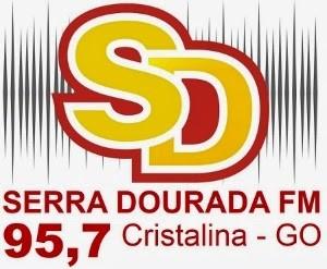 Rede Serra Dourada FM de Cristalina GO ao vivo pela net, a maior rede do estado de Goiás online