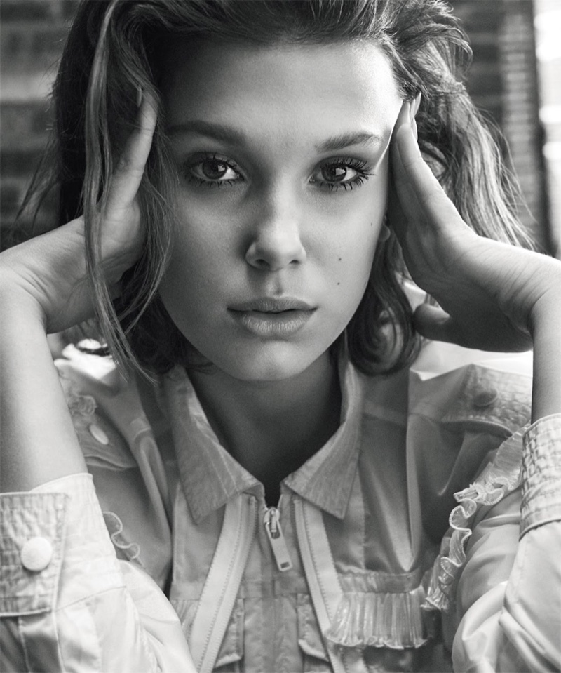 Millie Bobby Brown by Michael Schwartz for S Moda