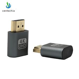 VGA Virtual Display Adapter HDMI   better 4K Video Adapter for big screen