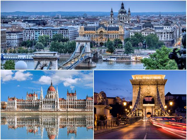 Угорський парламент та ланцюговий міст