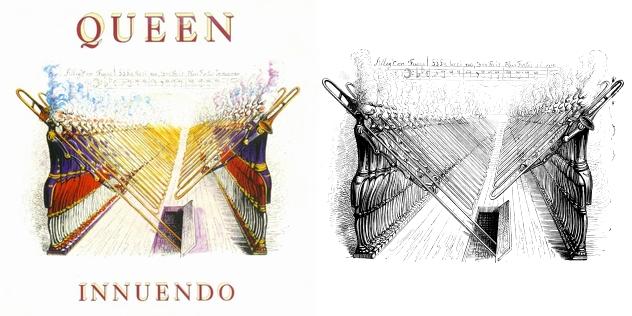 Queen - Innuendo single - Grandville - Melodie pour 200 Trombones