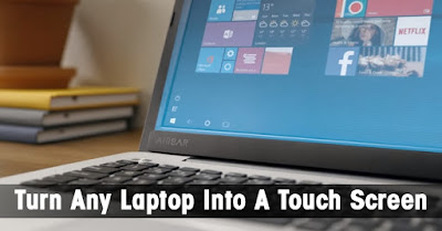turn your PC into touchscreen