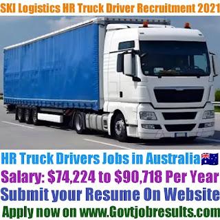 SKI Logistics HR Truck Driver Recruitment 2021-22