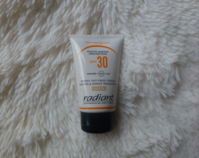 radiant tinted face cream