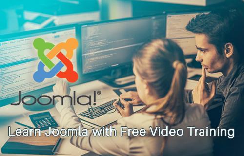 Joomla Training Course