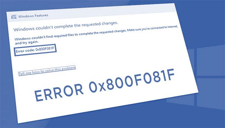 Memperbaiki Error 0x800F081F Ketika Menginstal .NET Framework Di Windows 10