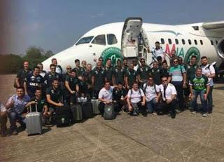 Colombia plane crash tragedy