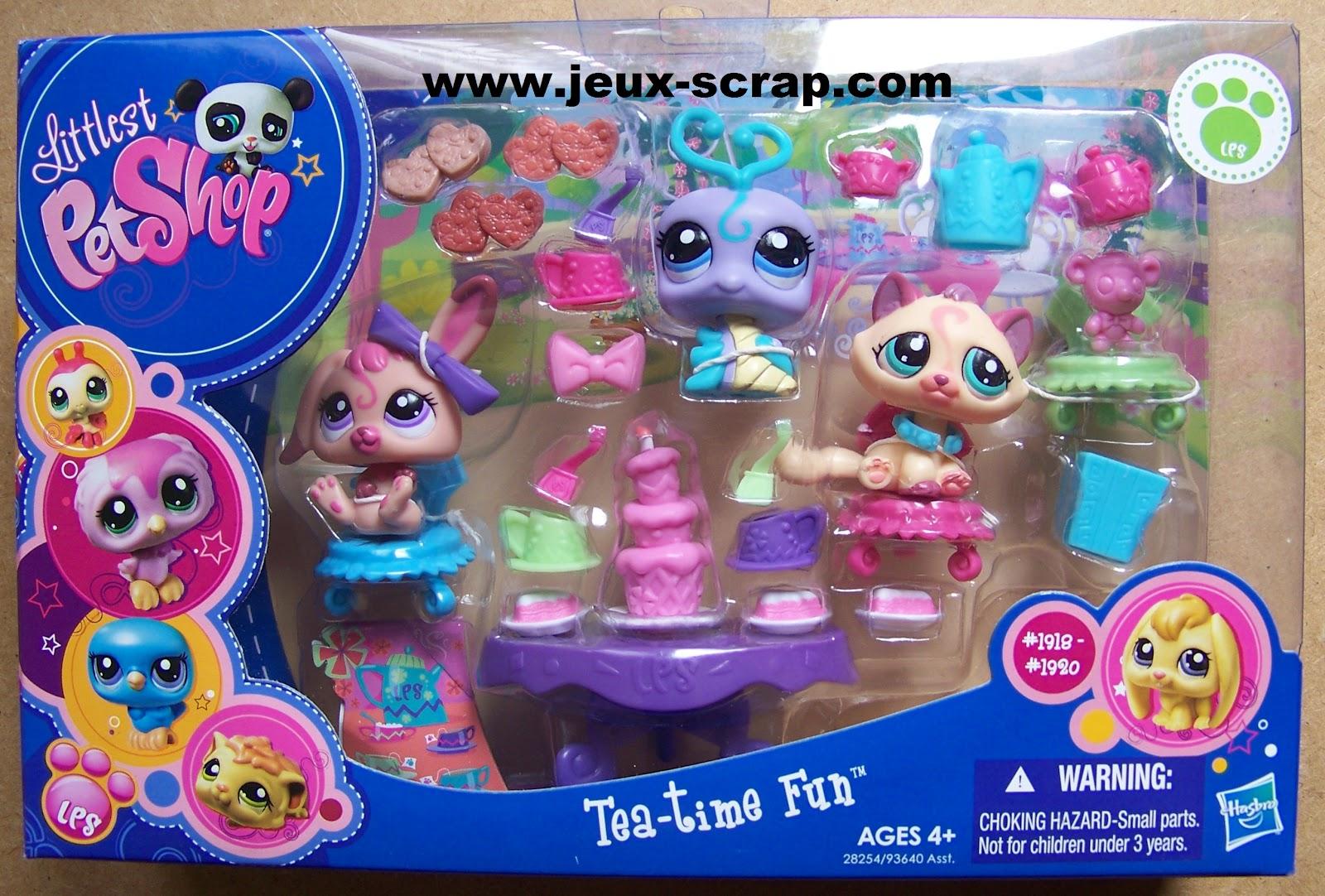 Blog boutique jouets jeux scrap coffrets littlest pet shop - Petshop gratuit ...