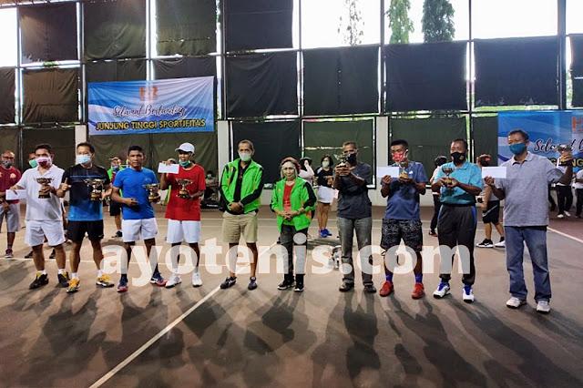 Julius/Wibowo Juara Turnamen Tenis Baveti Araya-Sier Surabaya Cup I Tahun 2020
