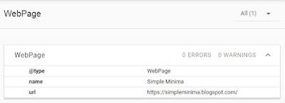 Schema Structured Data: No Error