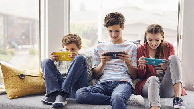 Switch Lite la nueva consola portátil de Nintendo